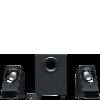 Z213 Compact 2.1 Speaker System