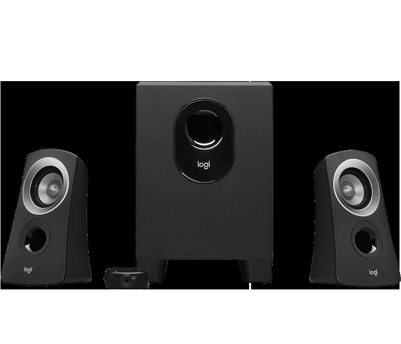 Z313 Speaker System with Subwoofer 1