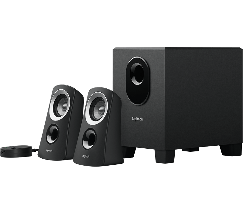 392bad2773f Logitech Z313 Computer Speaker System with Subwoofer