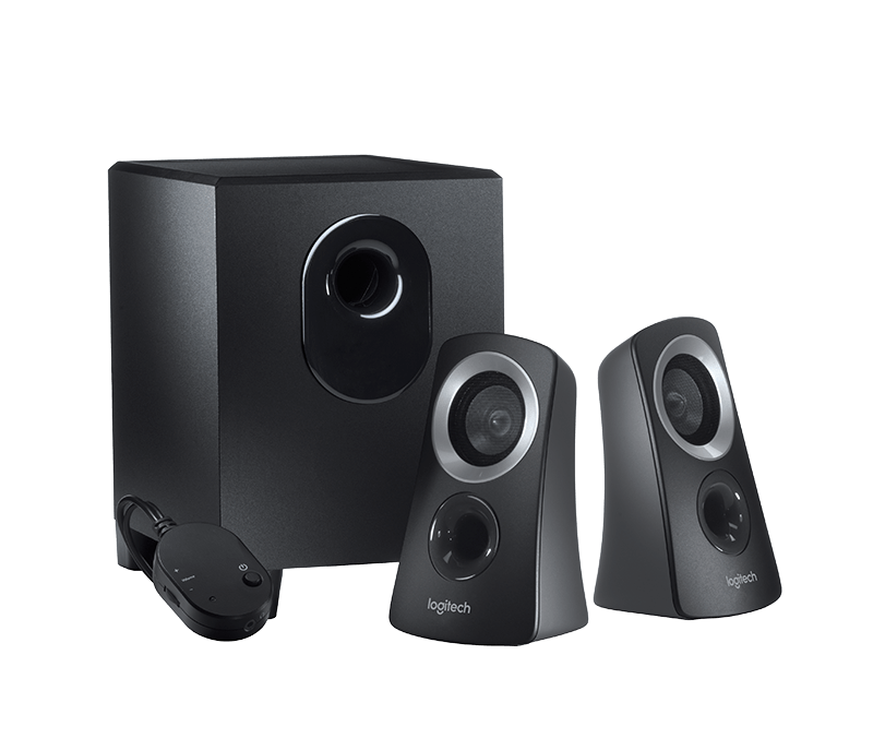 logitech z313 computer speaker system with subwoofer. Black Bedroom Furniture Sets. Home Design Ideas