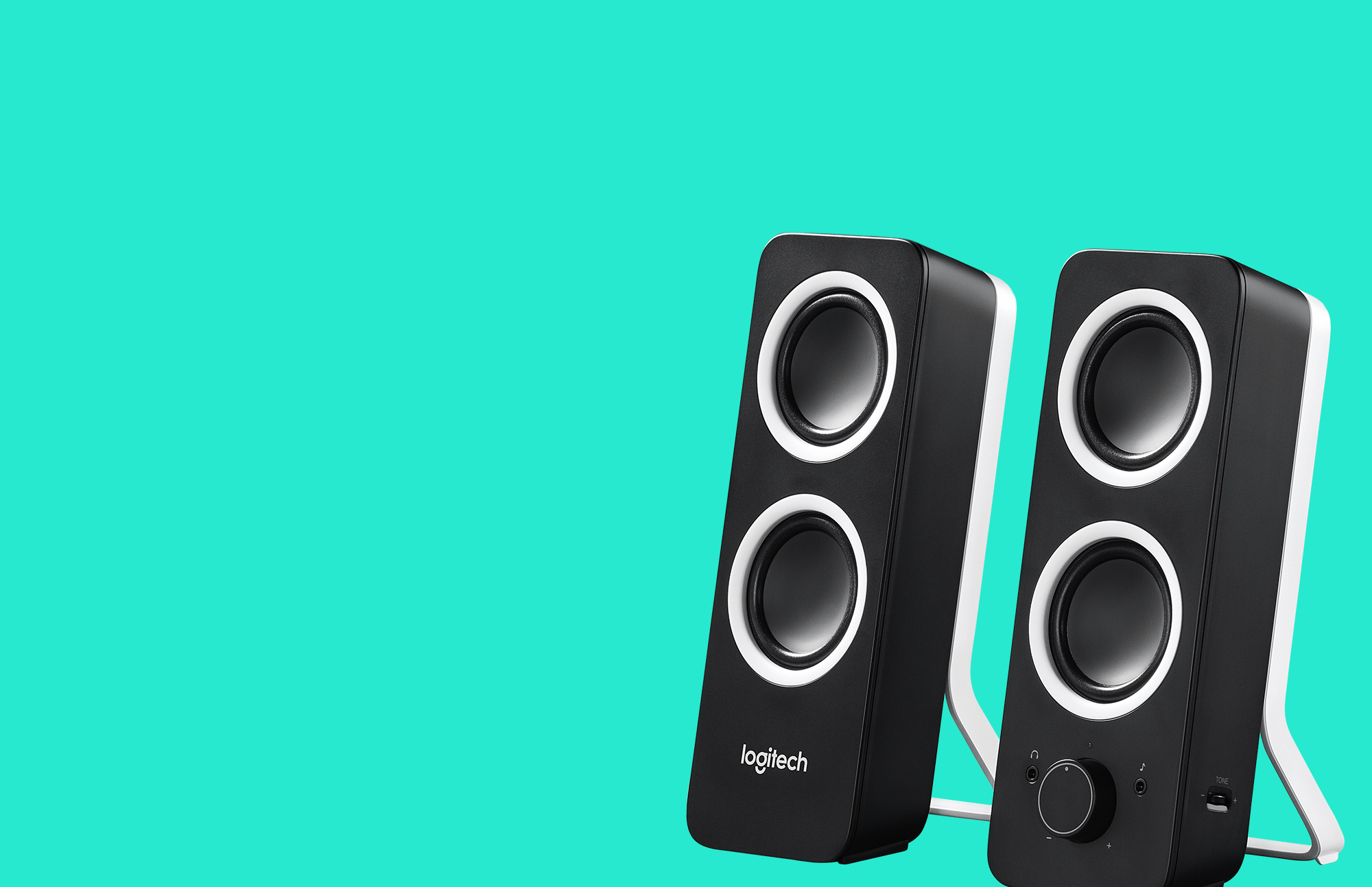 Rich stereo sound