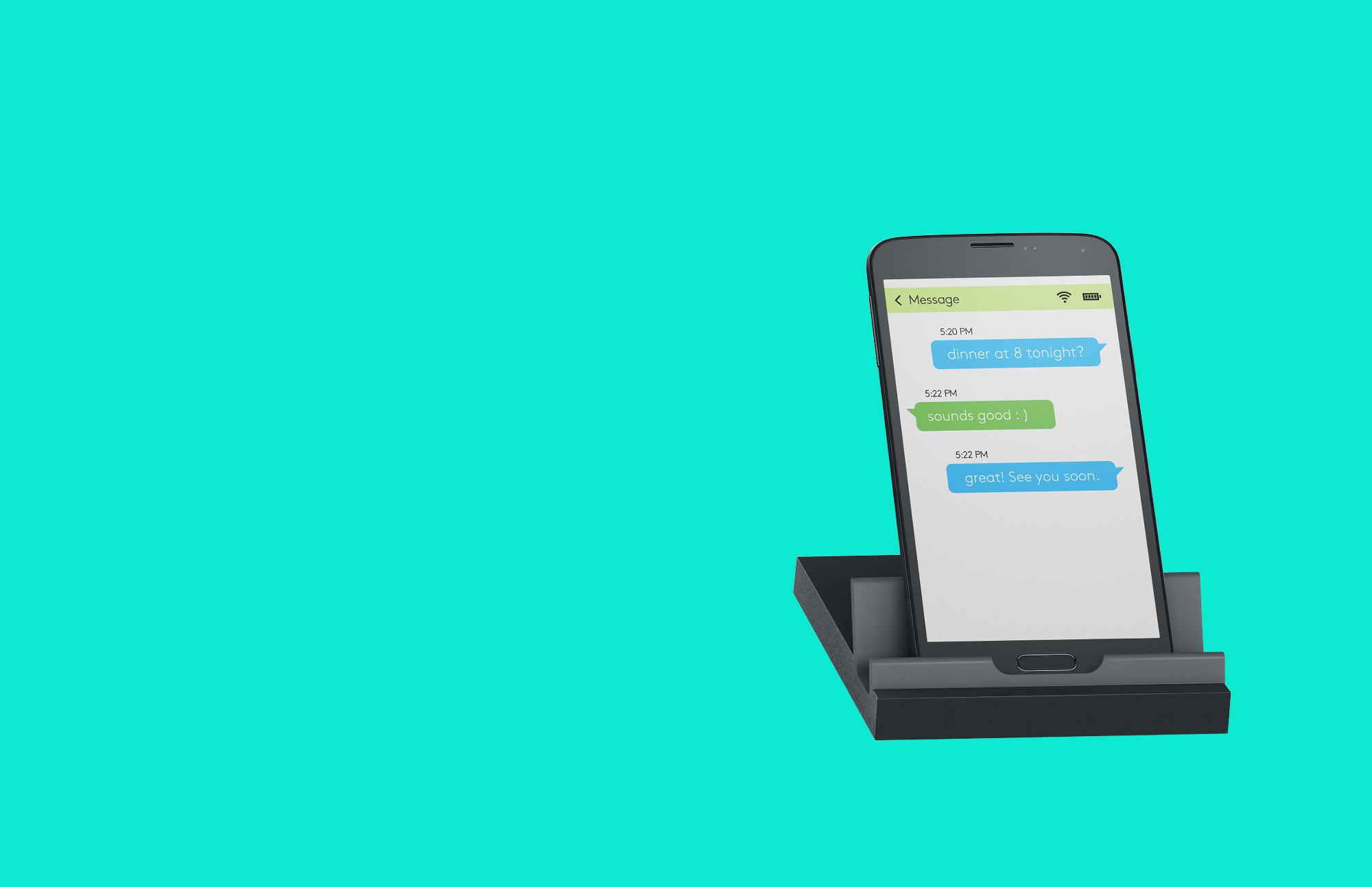 スマートフォンとタブレット両用のユニバーサル スタンド