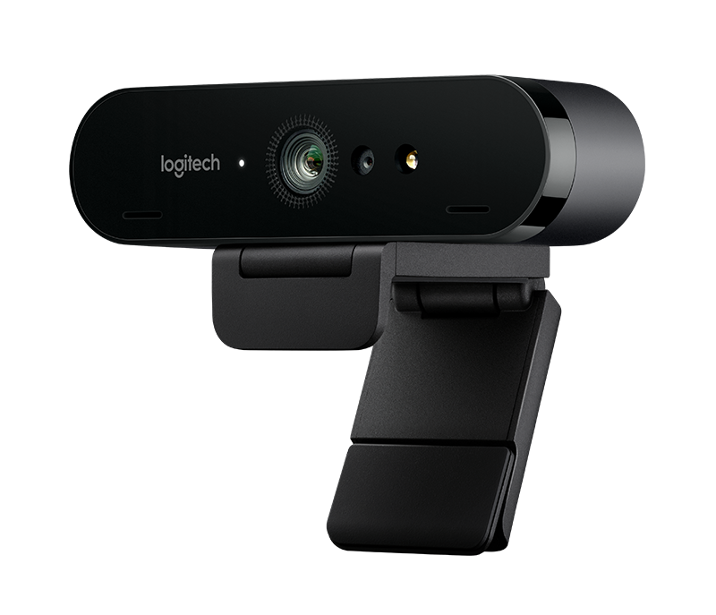 Cámara Web Logitech BRIO con video 4K Ultra HD y RightLight 3 con HDR