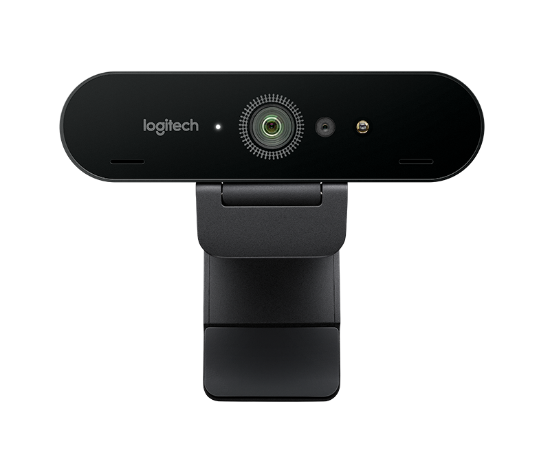 Logitech Brio Webcam With 4k Ultra Hd Video Rightlight 3 With Hdr