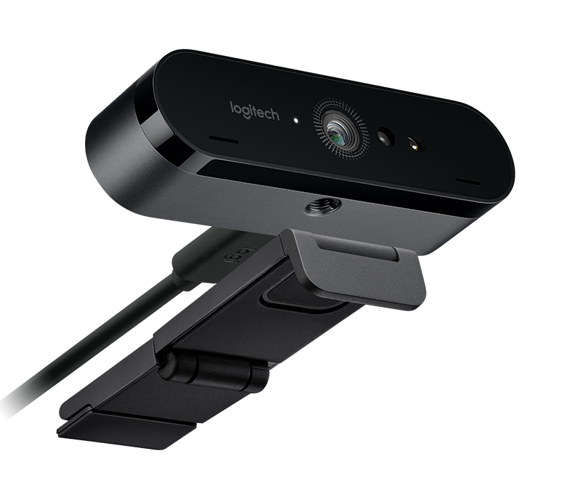 Logitech BRIO Webcam with 4K Ultra HD video & RightLight 3