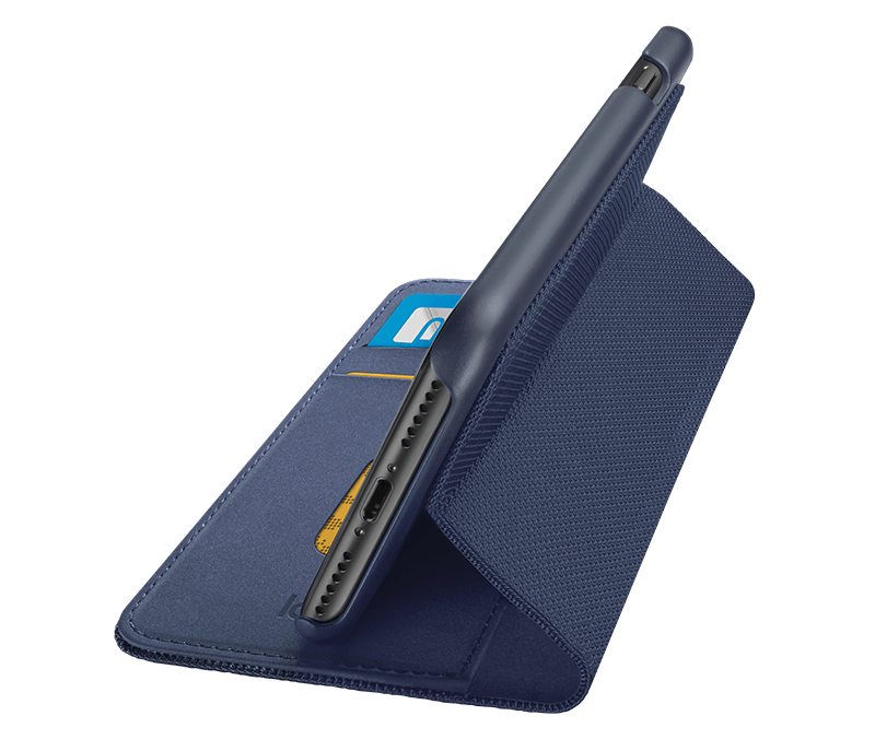 super popular 05793 b9a9e Logitech Hinge iPhone 7 Wallet Case with Any-Angle Stand