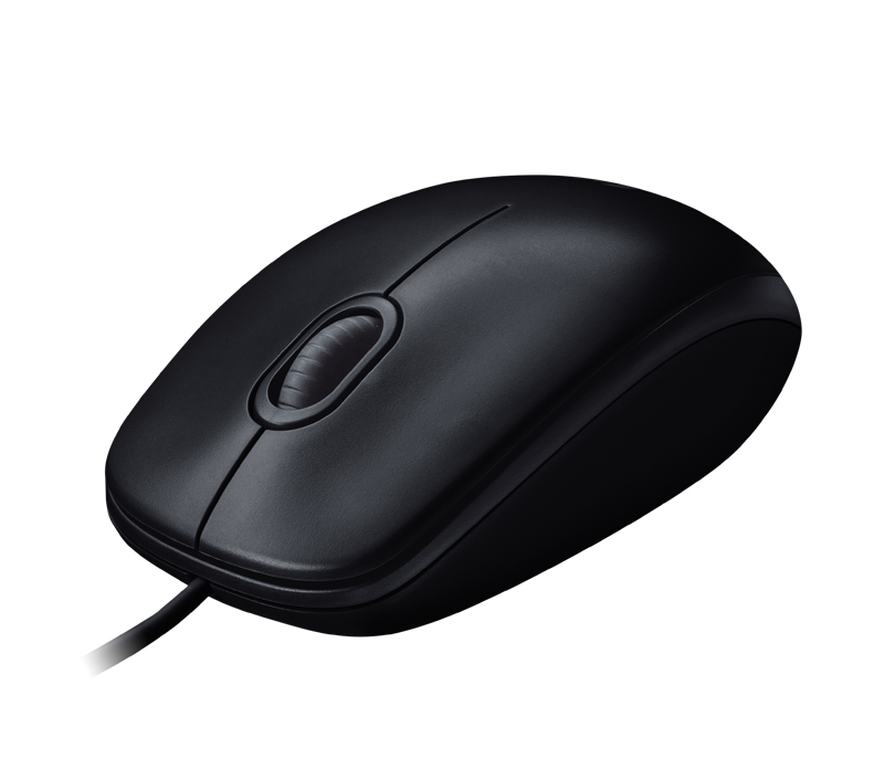 Mouse M100r Full Size Corded Comfort