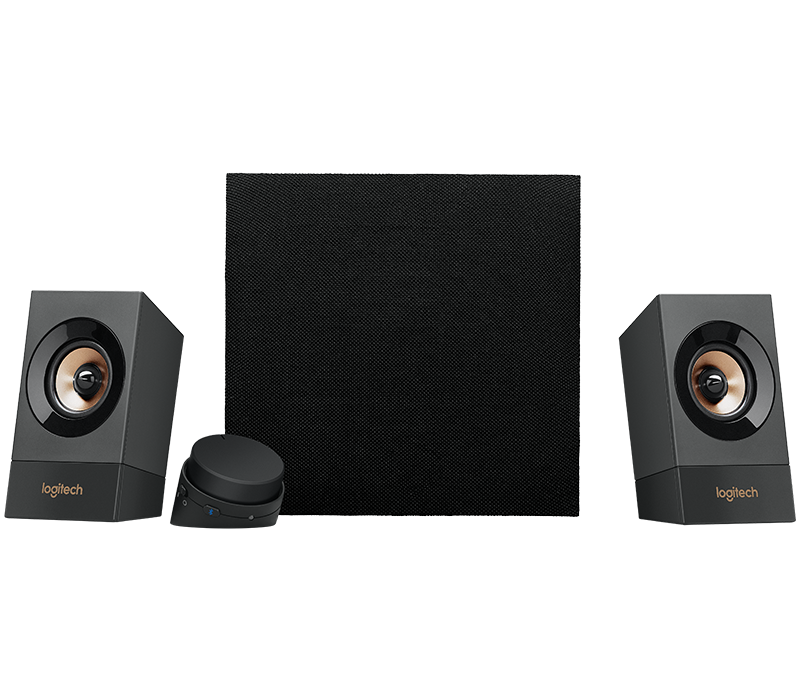 loigtech z537 multimedia 2 1 speaker system with bluetooth. Black Bedroom Furniture Sets. Home Design Ideas