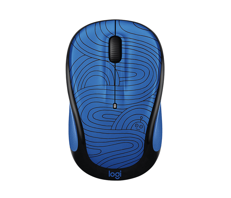 093bb2f4035 Logitech M325C Wireless Mouse for Doodle Collection, Fun Compact Mouse