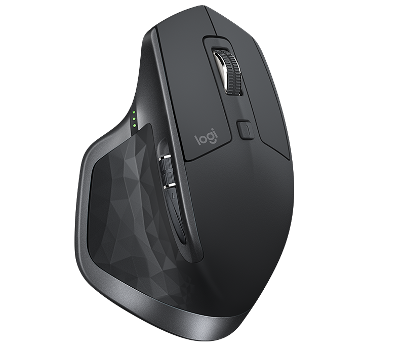 Logitech MX Master 2s Wireless Mouse with Multi-Device