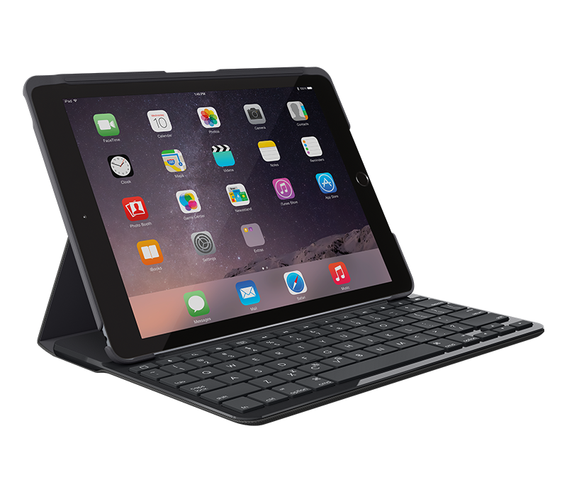 logitech slim folio ipad keyboard case en us. Black Bedroom Furniture Sets. Home Design Ideas