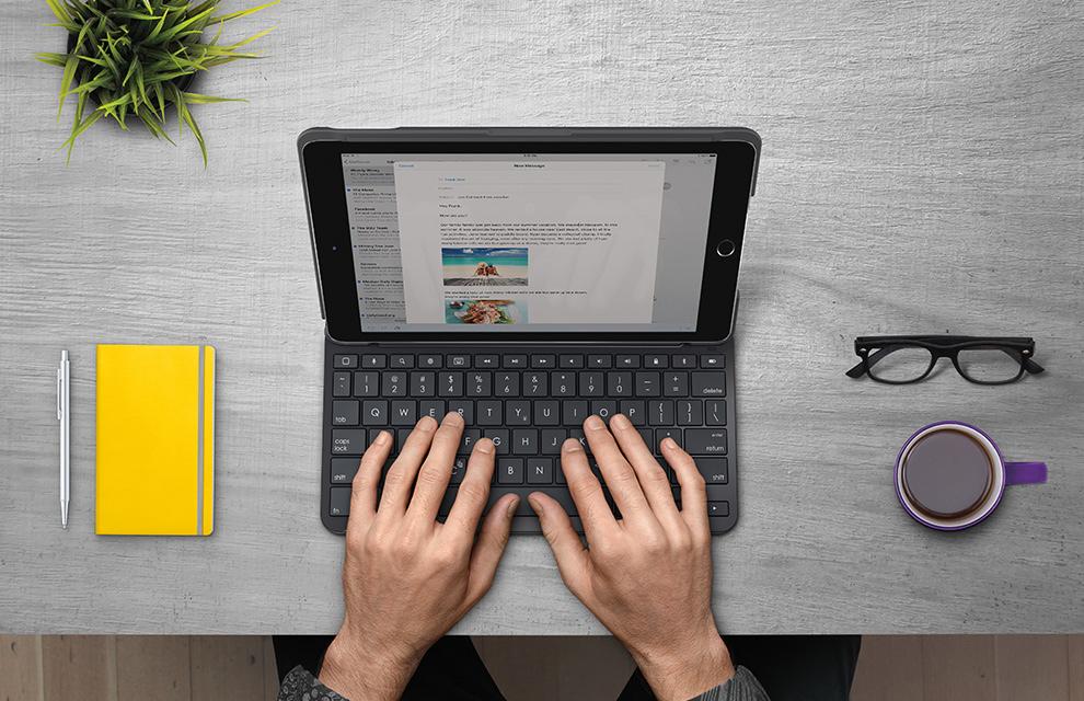 iPadをノートパソコンのように