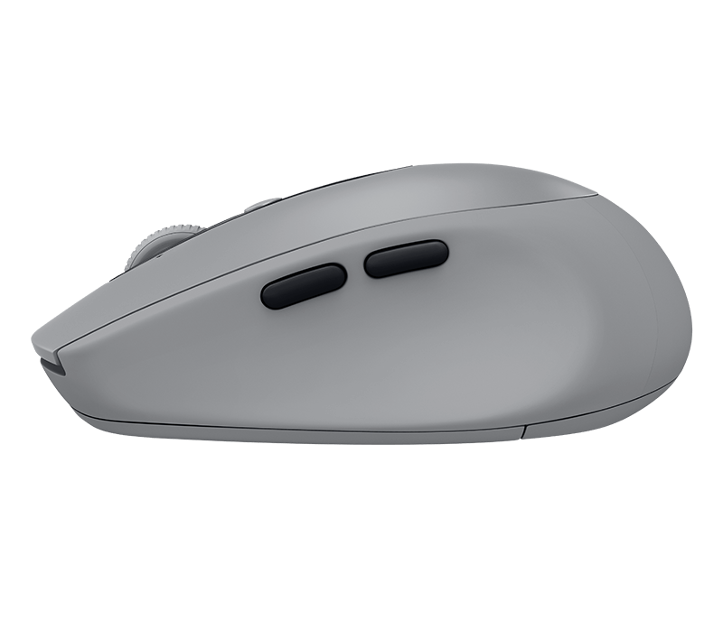 6c7c5ab5fe1 Logitech M590 Silent Wireless Mouse with 2 Thumb Buttons & Precise Scrolling