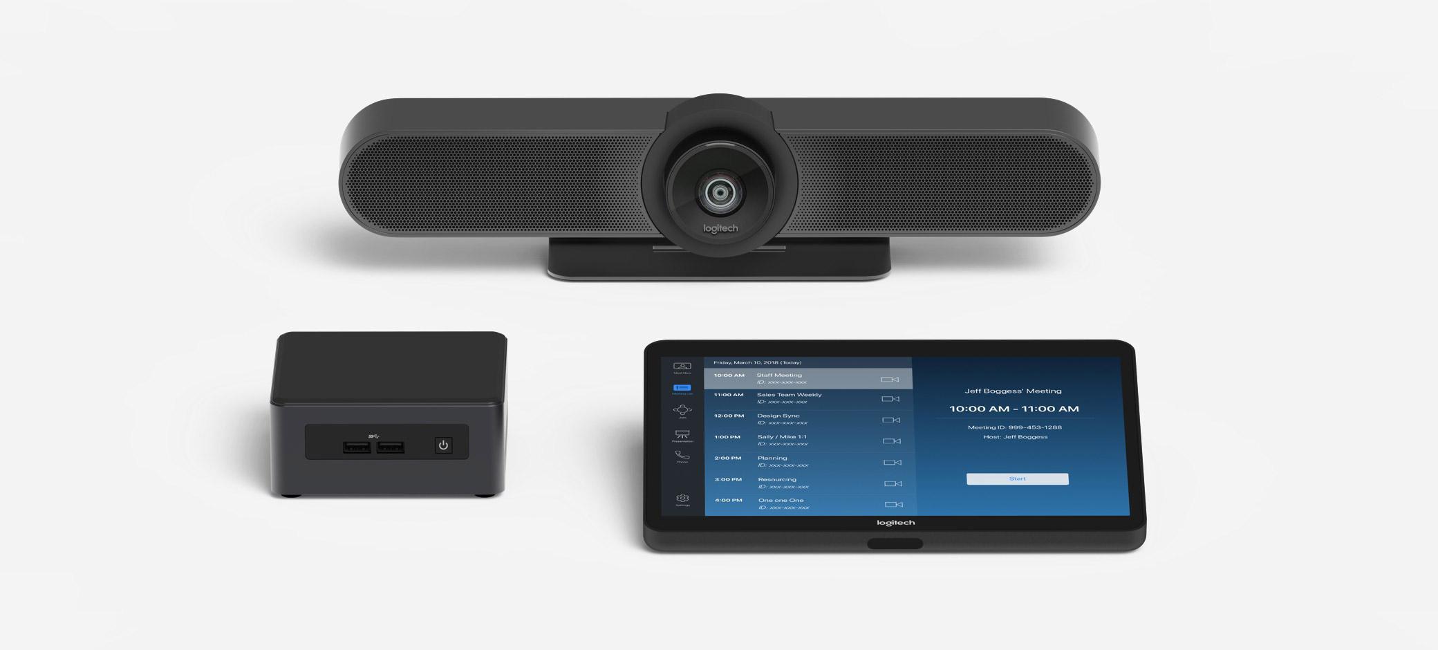 Logitech MeetUp Kit de videoconferencia 960-001201