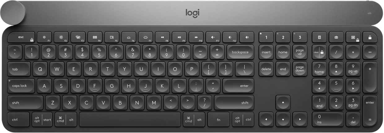 f019b769677 Logitech Craft Wireless Keyboard for Advanced Creativity & Productivity