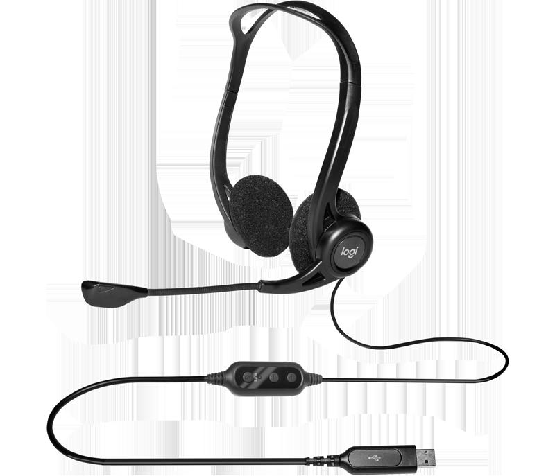 Cuffia con microfono USB 960