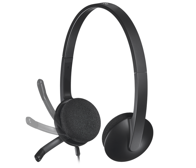 H340 USB Computer Headset 3