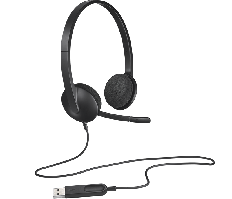 H340 USB Computer Headset 5