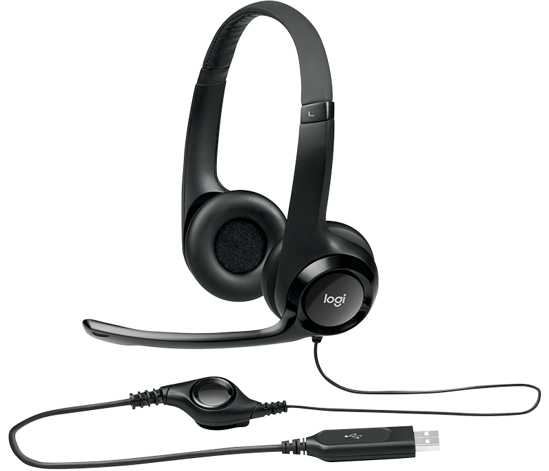 H390 USB Computer Headset