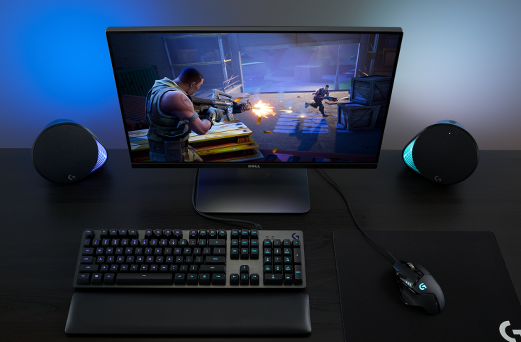 69fd814474a Logitech G560 RGB PC Gaming Speakers with Game-Driven Lighting