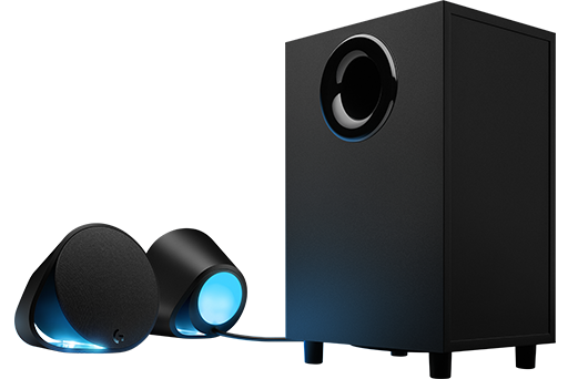 Logitech G560 RGB PC Gaming Speakers with Game-Driven Lighting