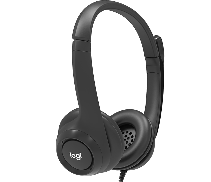 Wired USB Headset with Microphone