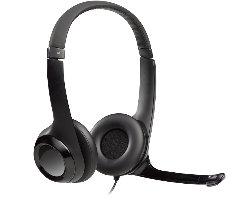 Wired USB Headset with Microphone3