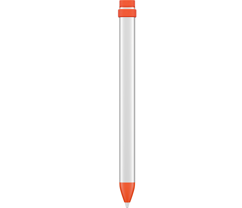 Crayon Digital Pencil back - Orange