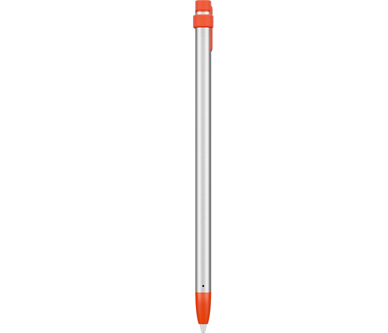 Crayon Digital Pencil side - Orange