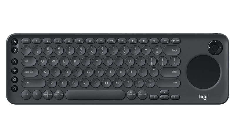 Logitech K600 Smart TV Keyboard, TV, PC & HTPC Remote Keyboard