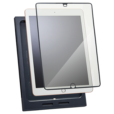 Rugged Combo Screen Protector for <span class='lowerCase'>iPad</span> (5th and 6th gen) - 10 pack