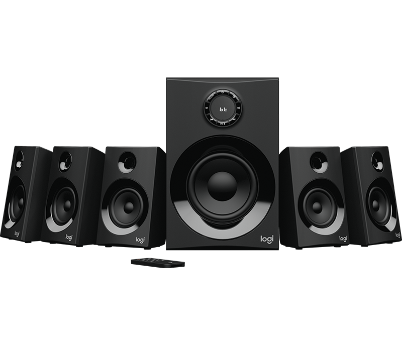 Z606 5.1 Surround Sound Speaker System 2