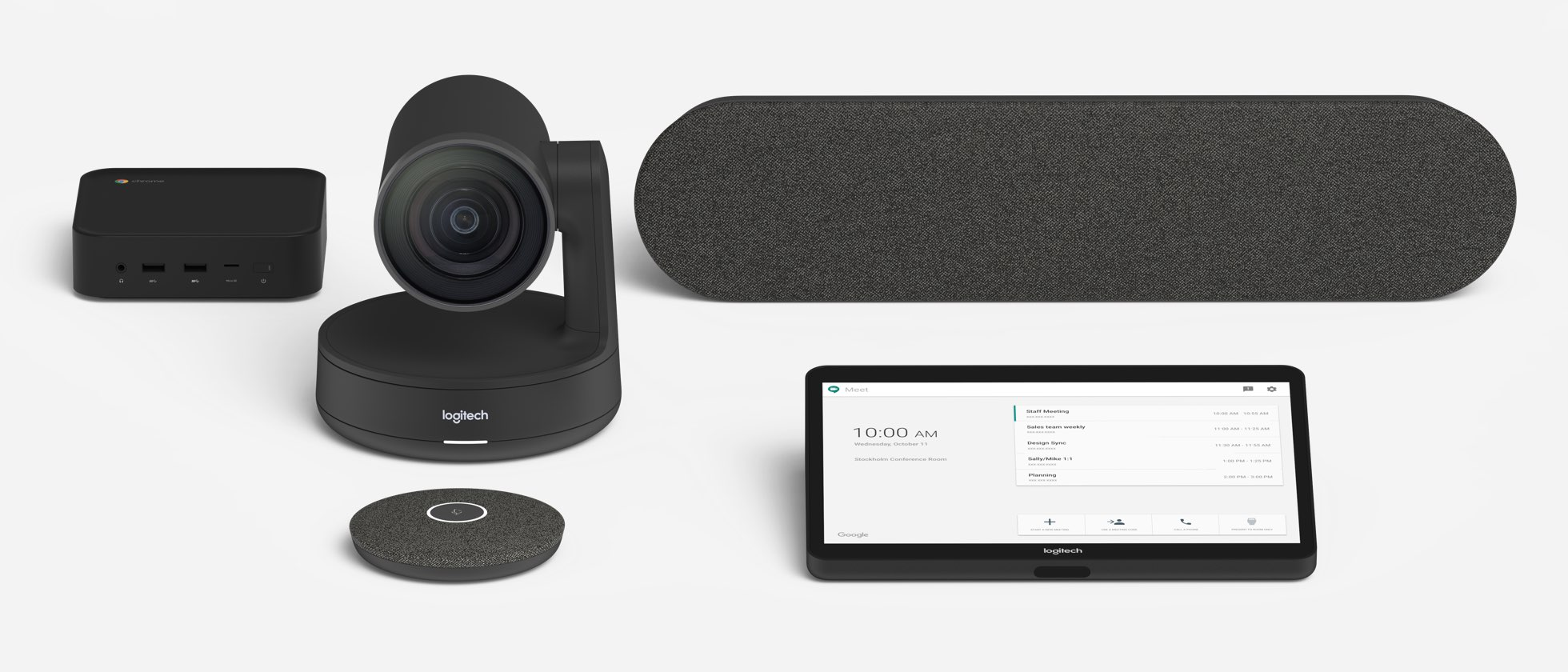 Logitech Room Solutions for Google Meet Pre-configured
