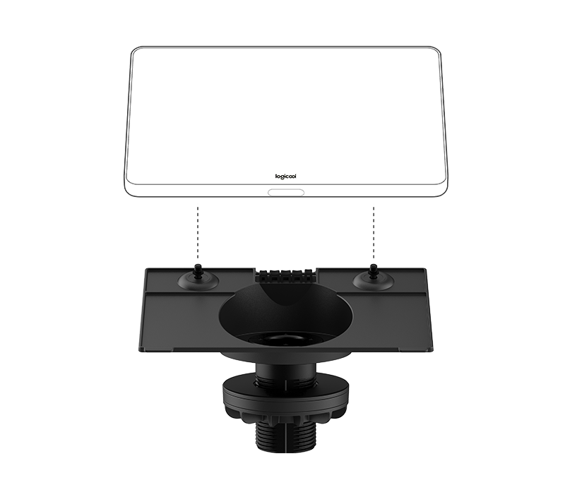 Riser Mount for Logicool Tap