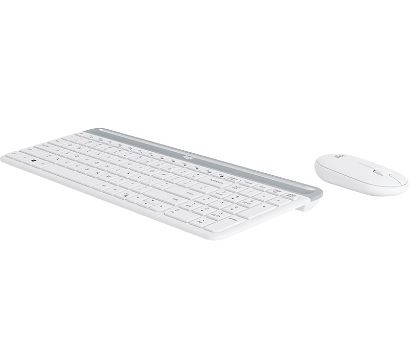 Slim Wireless Keyboard and Mouse Combo MK470 2
