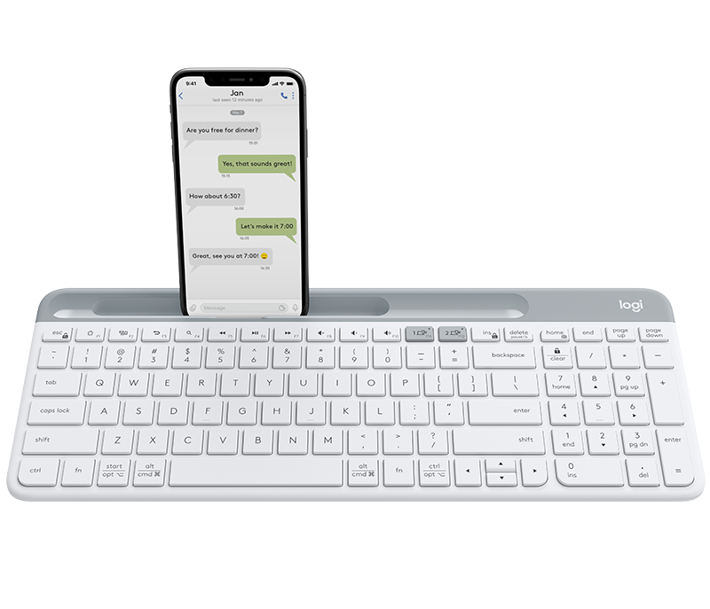 K580 Slim Multi-Device Wireless Keyboard 1