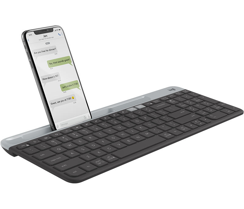 K580 Slim Multi-Device Wireless Keyboard