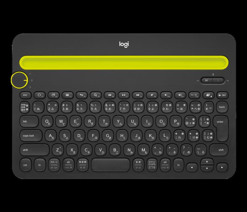 <em>Bluetooth</em> Multi-Device Keyboard K480 4