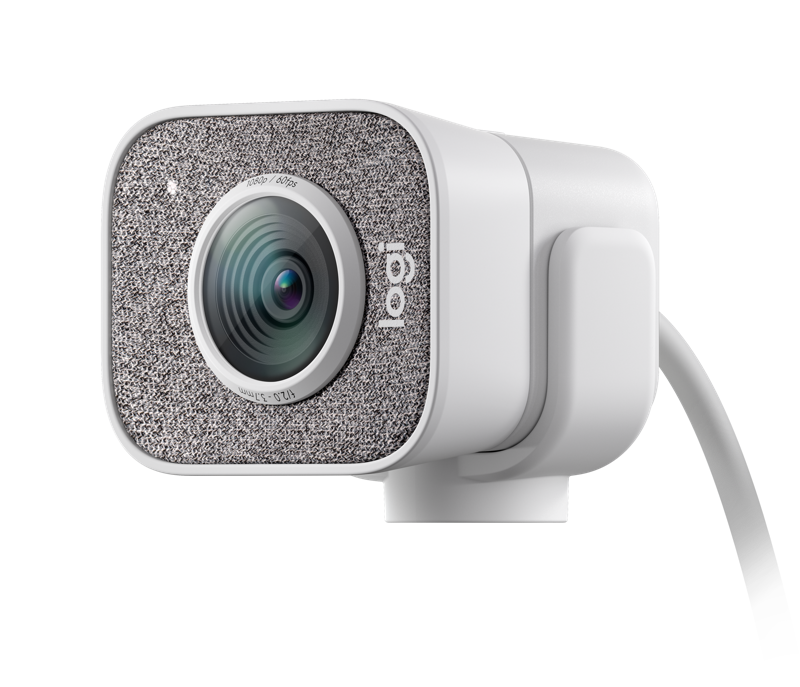 Logi StreamCam White Angle view