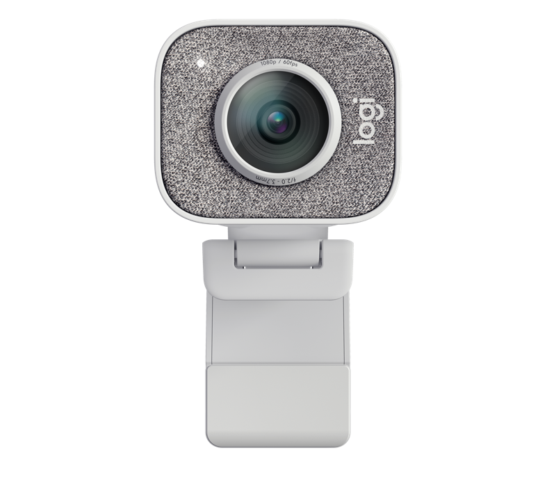 Logi StreamCam White - Wide and Straight View