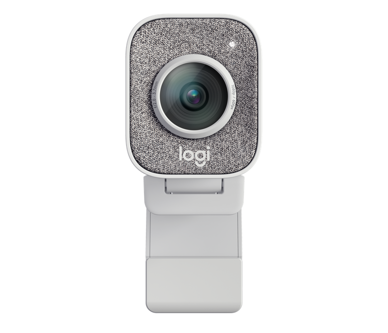 Logi StreamCam White - Narrow and Straight View