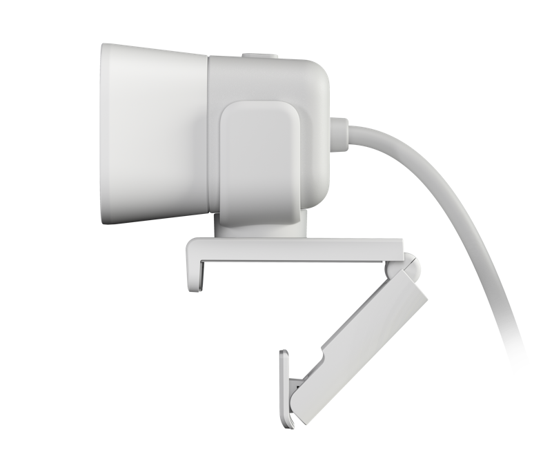 Logi StreamCam White - Wide and Side View