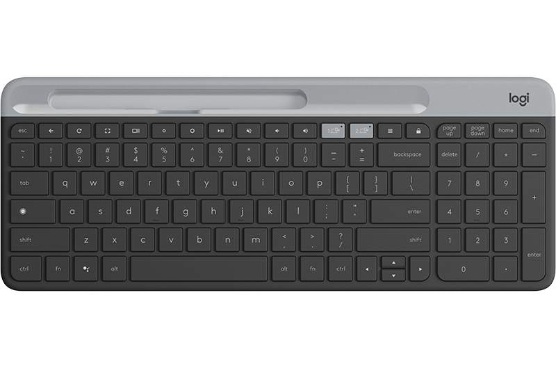 K580 Slim Multi-Device Wireless Keyboard Chrome OS Edition
