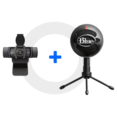 C920s Webcam+ Blue Snowball iCEGlamour