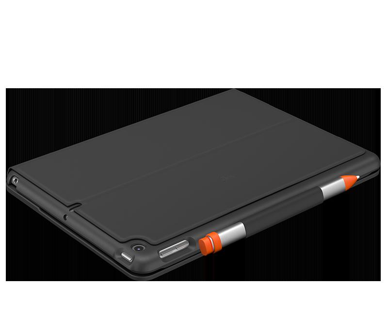 Slim Folio for iPad Air 3rd gen closed with apple pencil holder