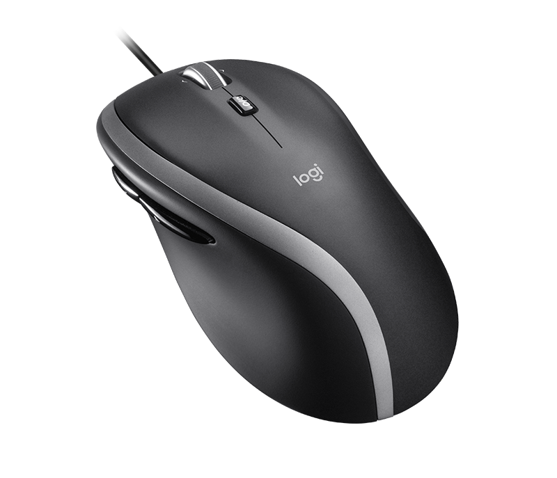 Corded mouse M500s - Profile View