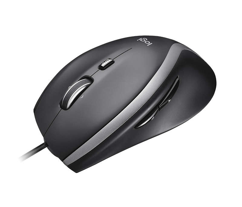 Corded mouse M500s - Front View