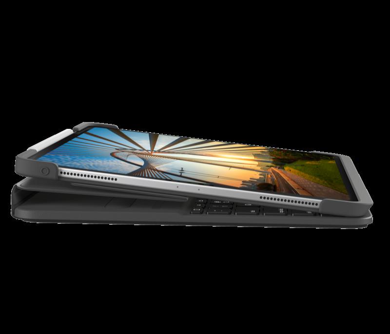 Slim Folio Pro for iPad Pro 12.5 inch fold view