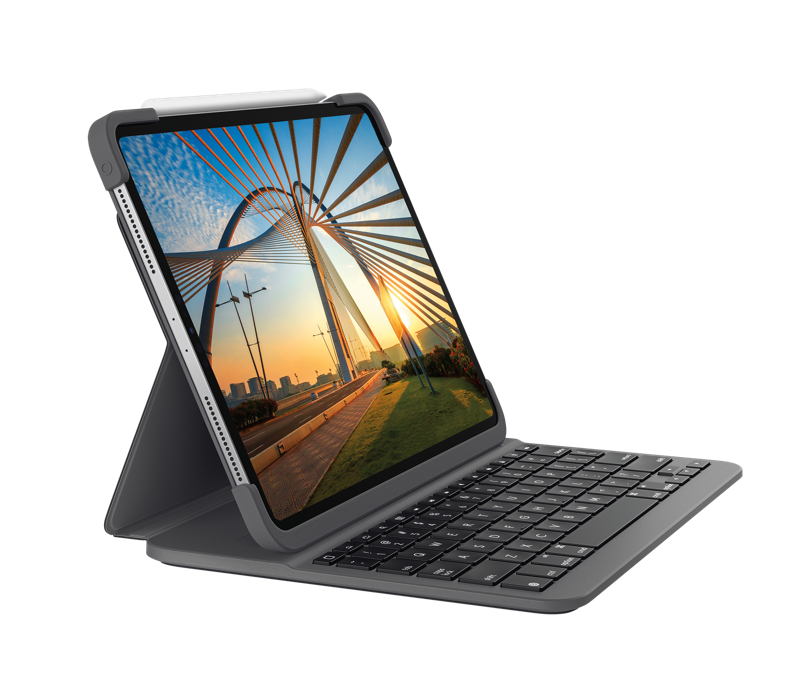 Slim Folio Pro for iPad Pro 11 inch 3/4 angle